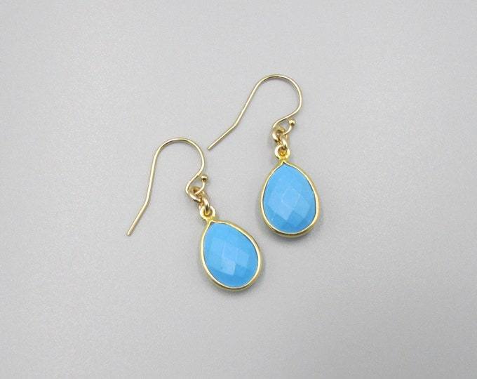 Turquoise Earrings | Simple Earrings