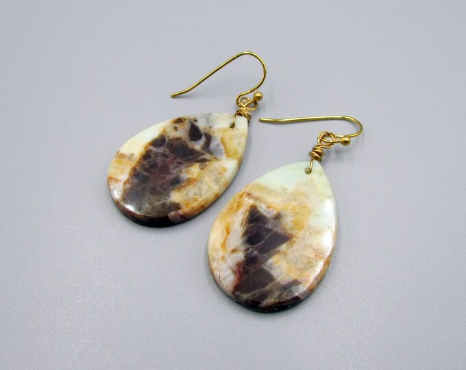 Peru Opal Earrings | Signature Earrings