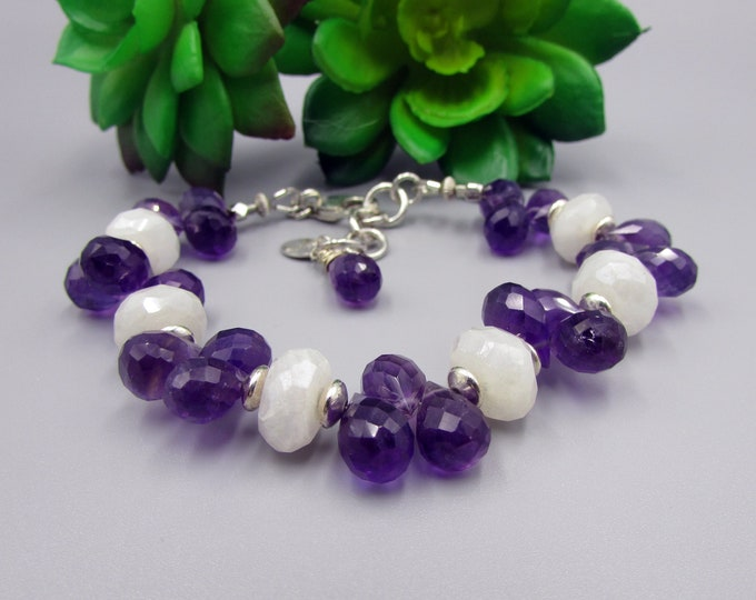 Amethyst Bracelet | Moonstone Bracelets