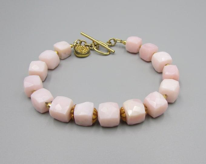 Pink Opal Bracelet | Peruvian Opal Bracelets