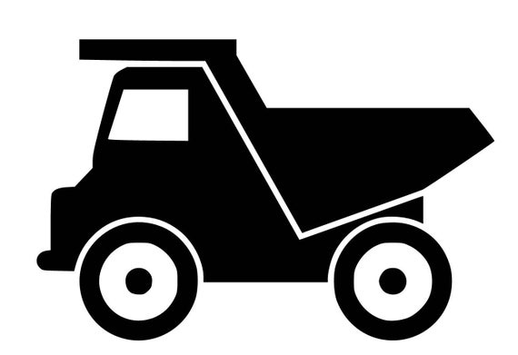 dump truck svg pdf png jpg dxf eps file custom designs etsy tired clip art free tire clipart