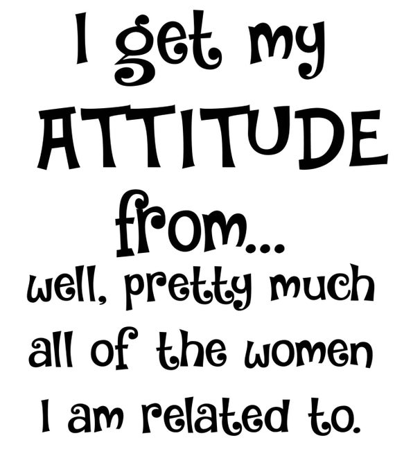 I Get My Attitude Svg Pdf Png Jpg Eps Dxf File Welcome Etsy