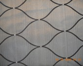 Shimmery Silver Grey and Black Fabric - 3 yards use 1002 1003