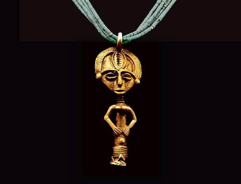 Mali Fertility Pendant /& Turquoise