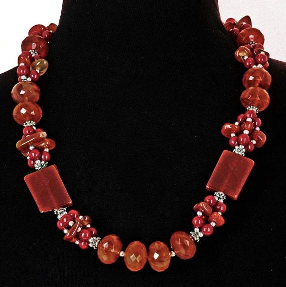 Colorful Long Vintage Necklace