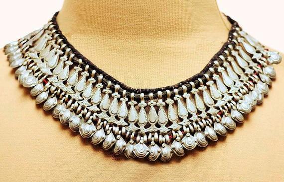 Vintage Turkmen Collar - Handmade