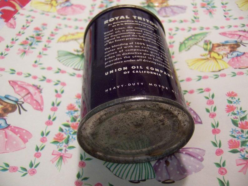 royal triton 76 tiny tin bank
