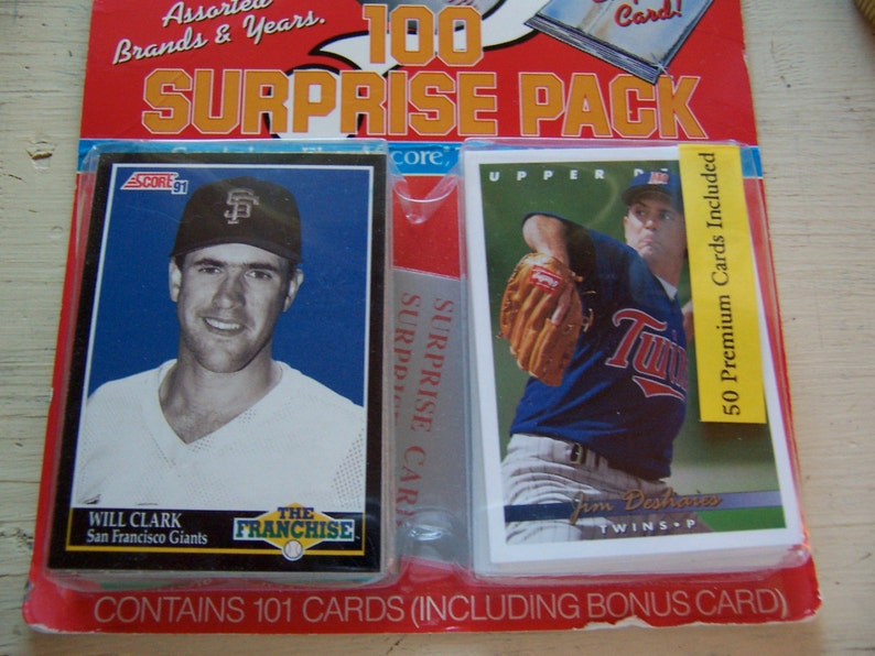 Sports Pak Collectable Baseball Cards