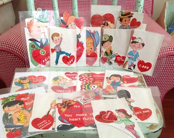 Seventeen sweet little valentines