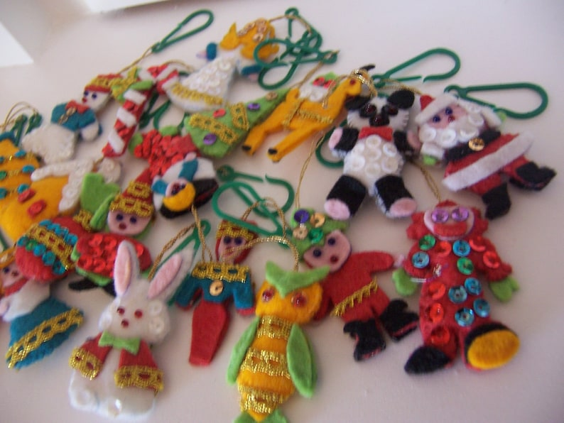 charming adorable bunch of ornaments