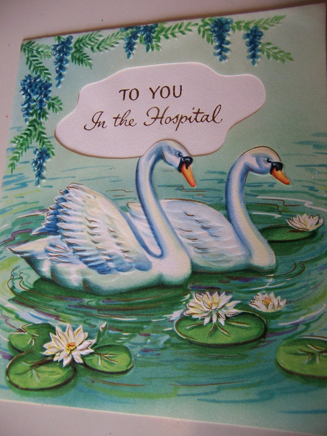 to you in the hospital card
