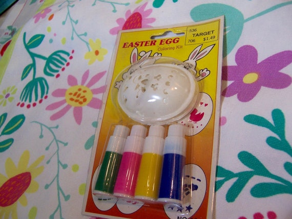 Easter Egg Coloring Kit Etsy
