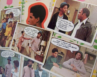1975 good times trading cards