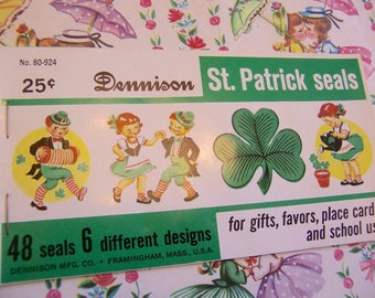 dennison st. patricks seals
