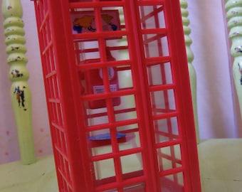 telephone box savings bank