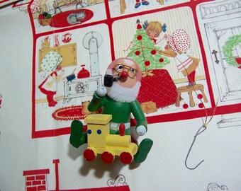 toy maker elf ornament