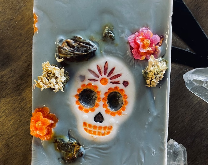 Day Of The Dead Soap Gray