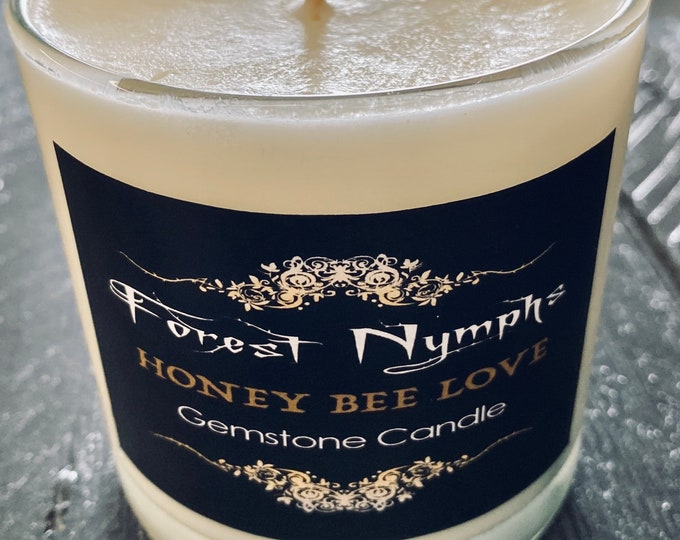 Honey Bee Love Candle