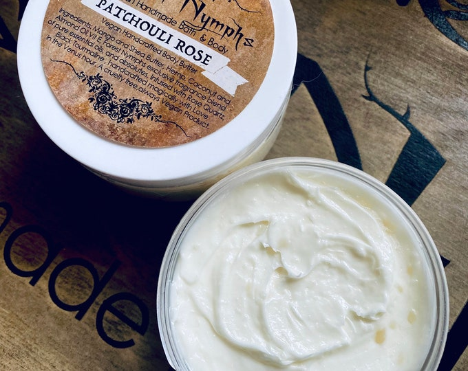 Patchouli Rose Body Butter