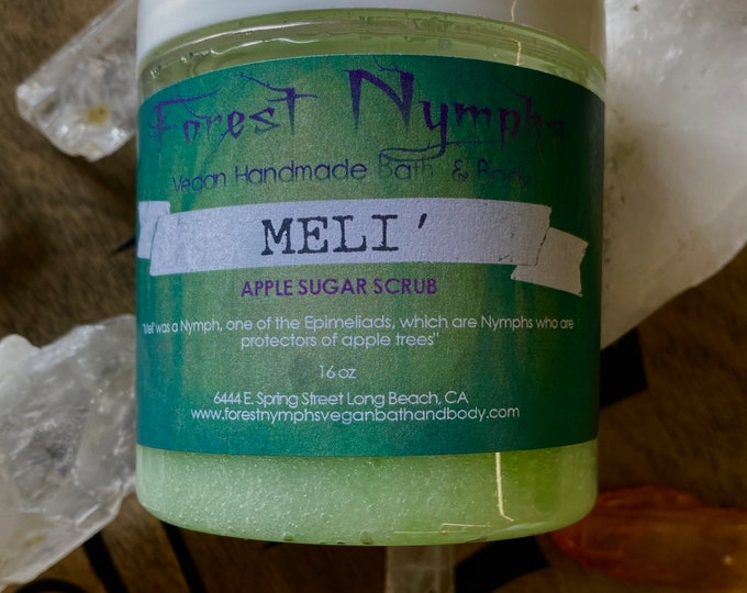 MELI SUGAR SCRUB 8oz
