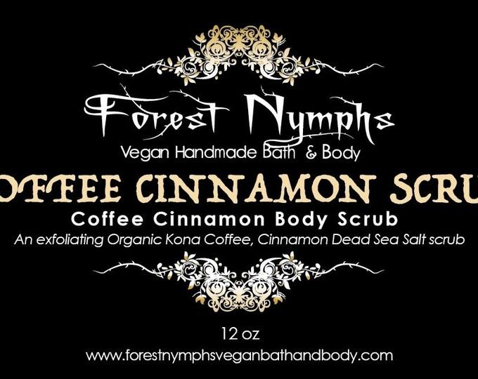 Cinnamon Coffee Body Scrub