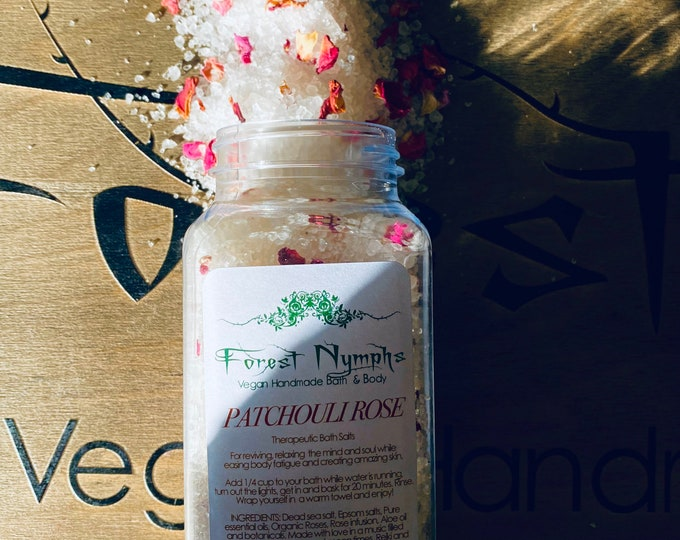 Patchouli Rose Bath Salts