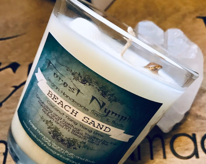 Beach Sand Gemstone Candle