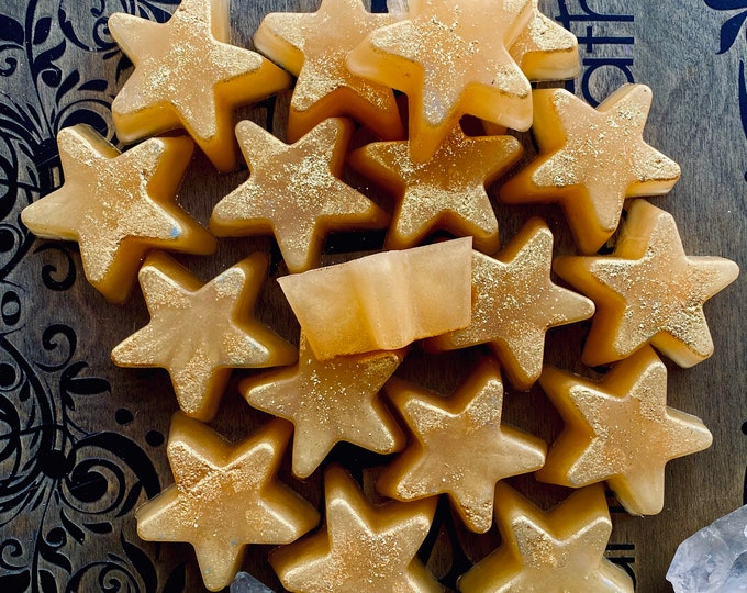 Christmas  Stars  shaped soaps