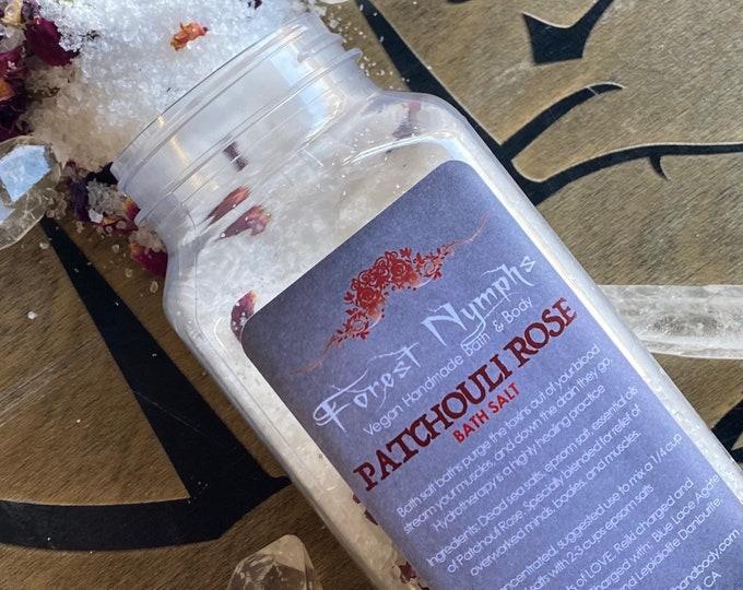 Patchouli Rose Bath Salts