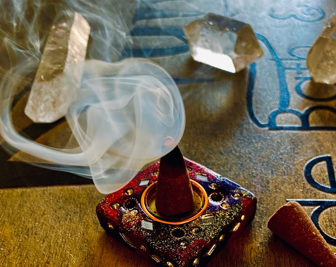 Incense Cones And Burner