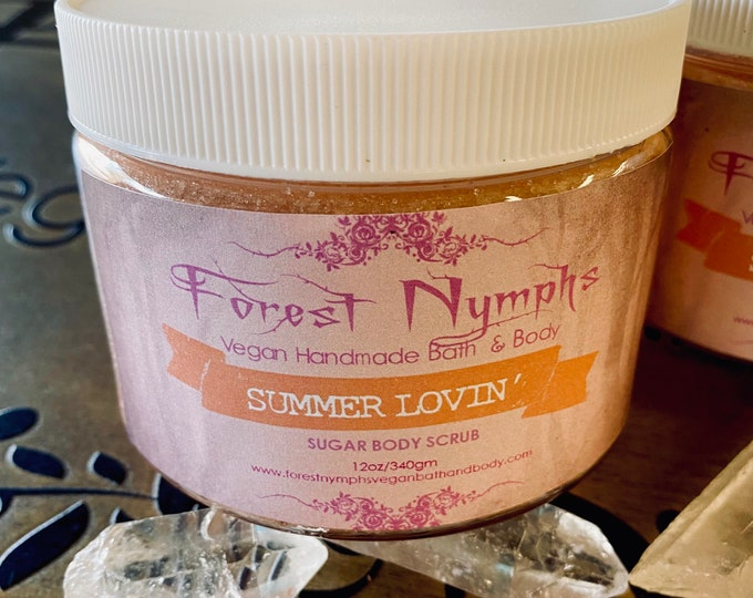 Summer Lovin Sugar Body Scrub