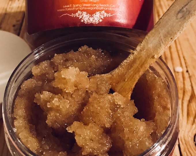 Organic UNSCENTED  Pumpkin Sugar Scrub