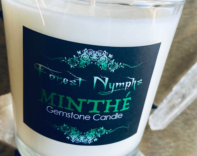 Minthe' Gemstone Candle