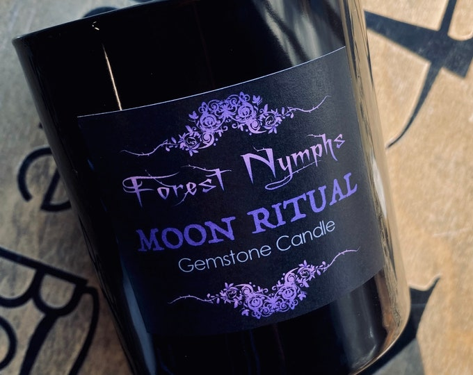 Moon Ritual Gem Soy Candle