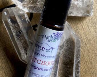 Perfume oil Patchouli Rose