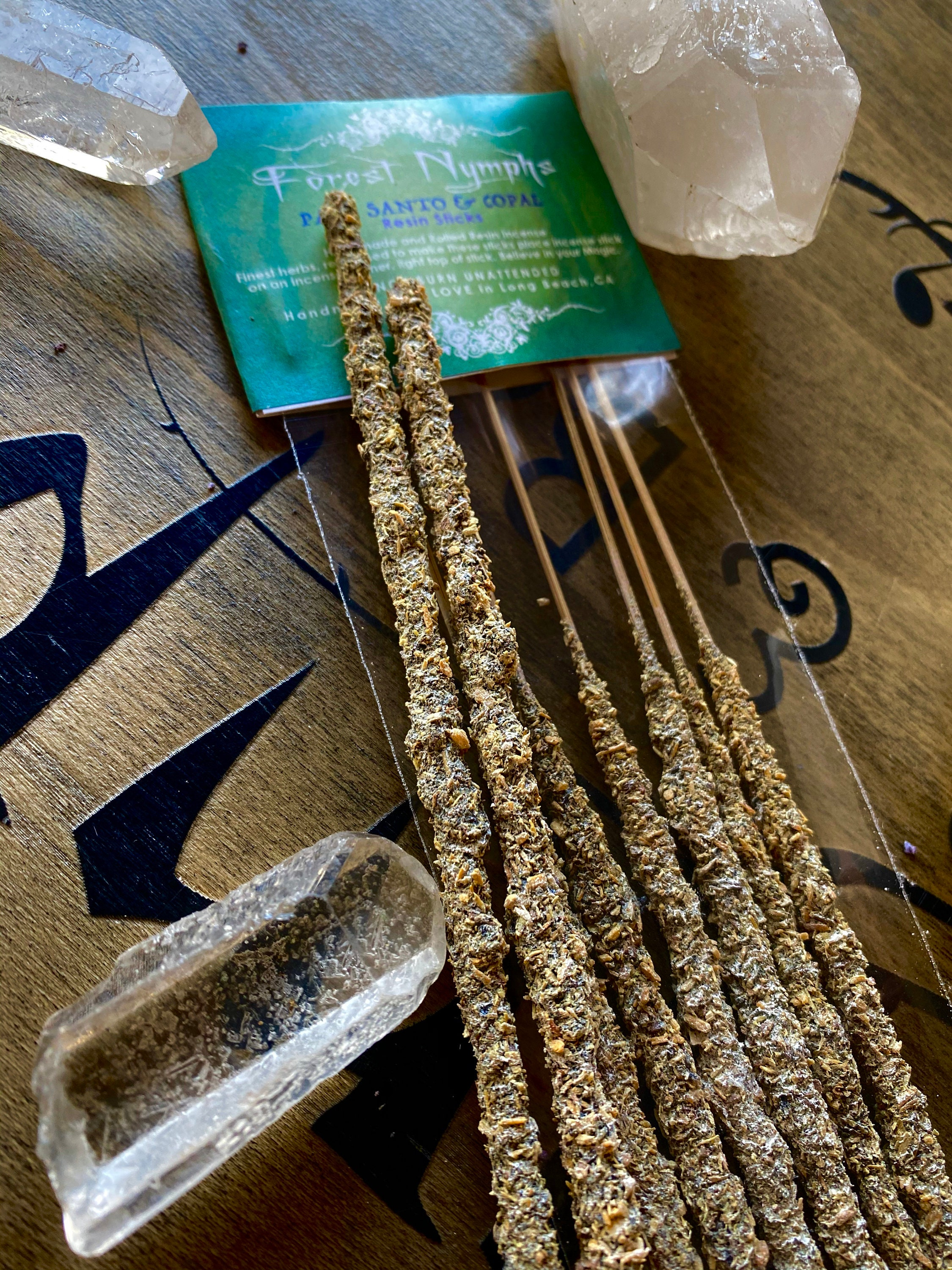 Palo Santo And Copal Resin Incense