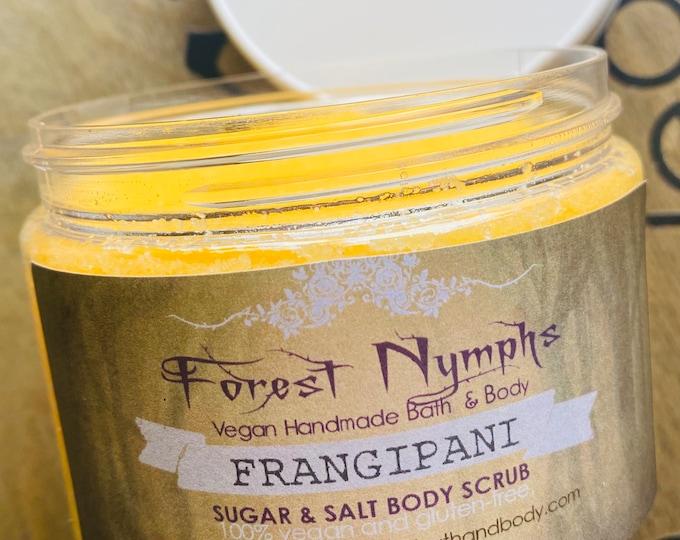 Frangipani Sugar Salt Body Scrub