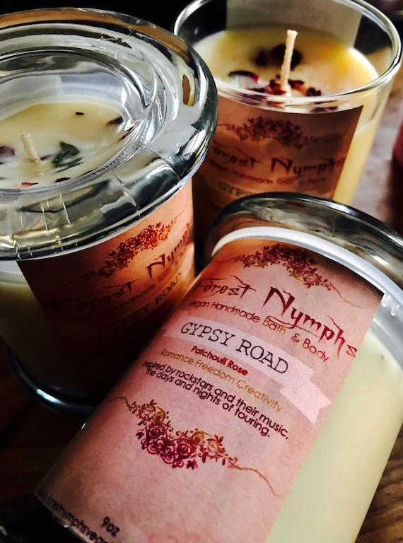 Gypsy Road Gemstone Candle