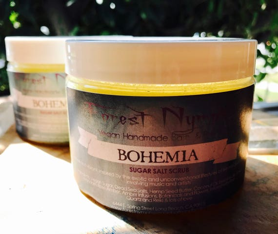 BOHEMIA Sugar Salt Body Scrub