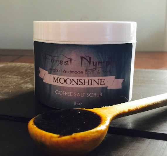 MOONSHINE Coffee Salt Body Scrub