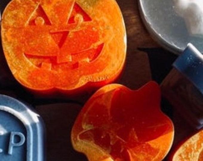 Pumpkin Halloween Soap