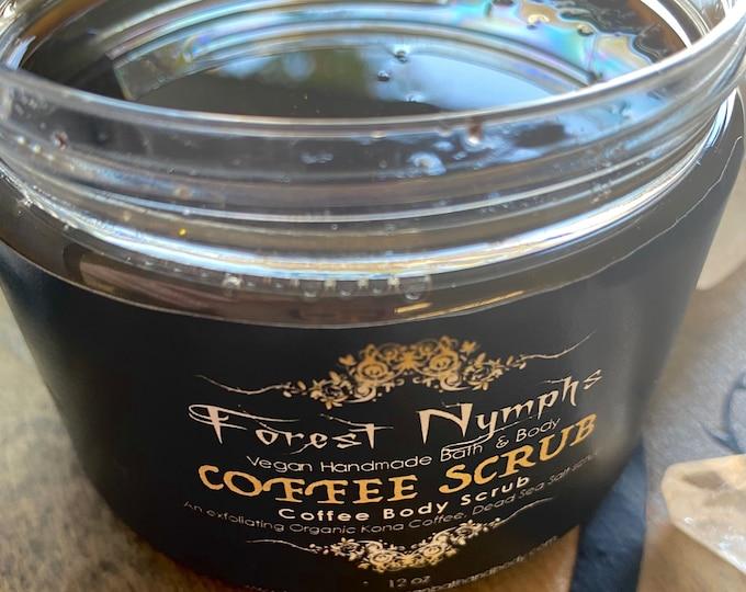 Coffee Salt Body Scrub
