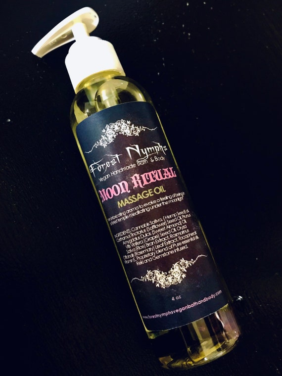 Moon Ritual Massage Oil