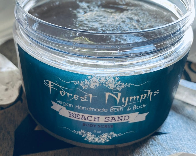 BEACH SAND Salt Body Scrub