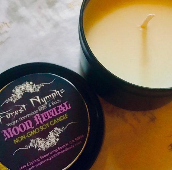 Moon Ritual Non GMO Soy Candle