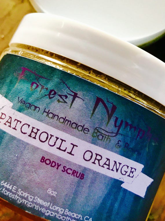 PATCHOULI ORANGE Sugar Body Scrub
