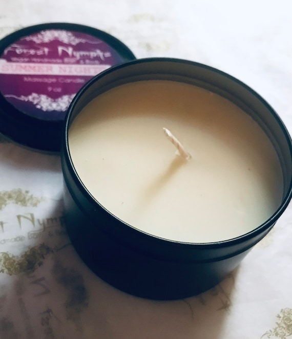 Summer Nights Non GMO Soy Candle