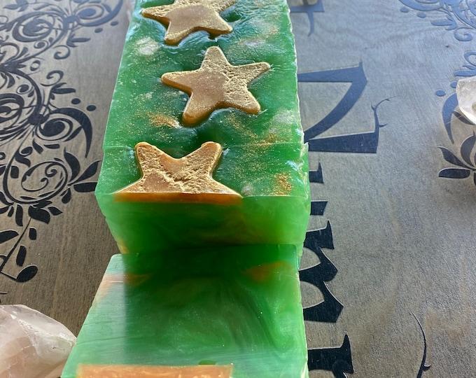 Christmas Tree Star Soap