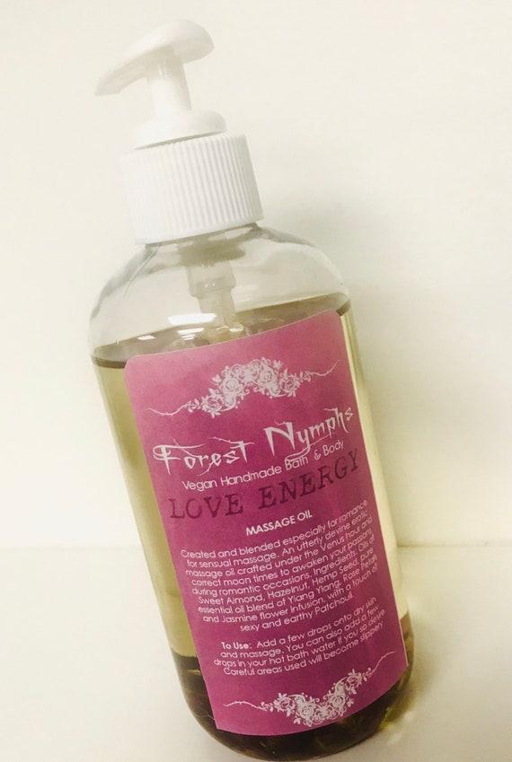 LOVE ENERGY Massage Oil 8 oz