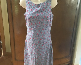 bd90c5ada59a2 Blue Floral Betsey Johnson Dress